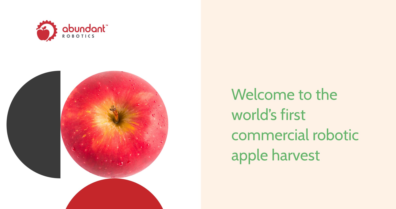 アームを使ったりんご収穫ロボット AbundantRobotics社