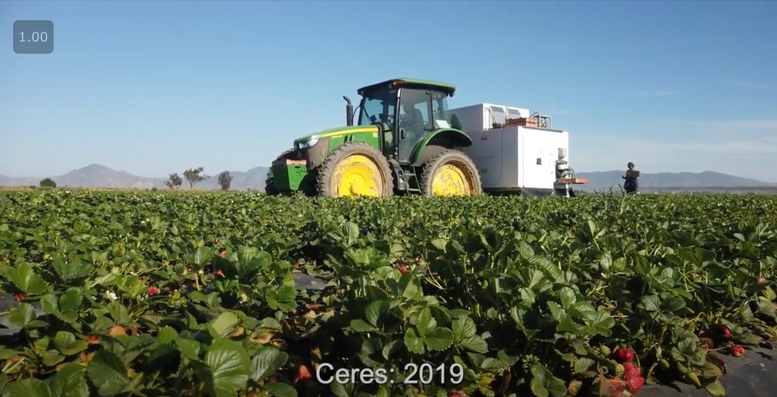 繊細な果物を人間のようなタッチで収穫し、アメリカの労働力不足を解決する収穫ロボットメーカー Traptic社