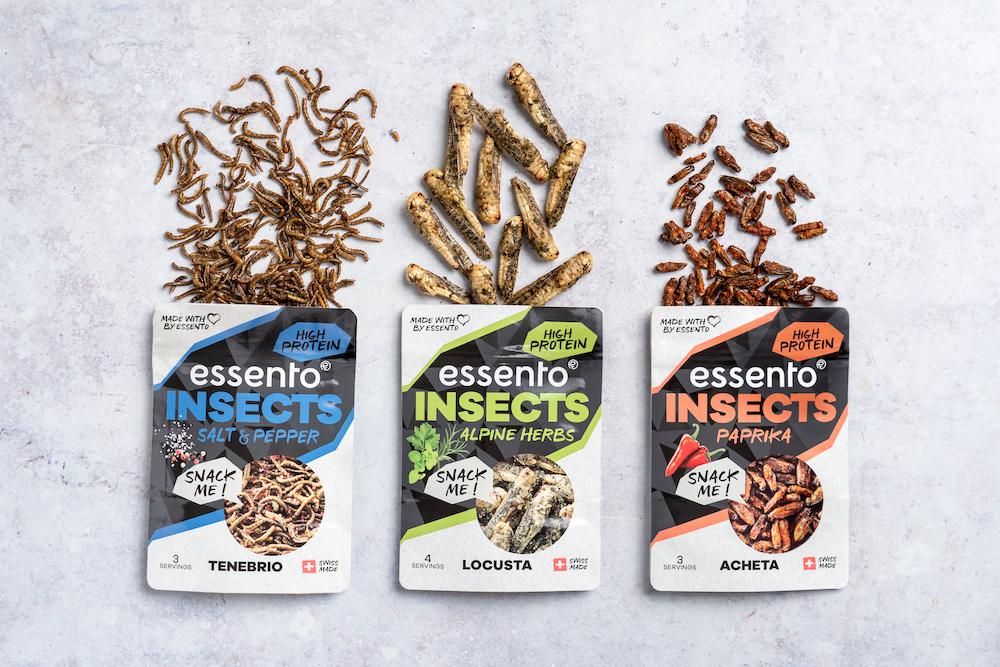 昆虫食バーガーやミートボールを製造し、ヨーロッパの昆虫食普及に取り組む昆虫食企業Essento社について解説