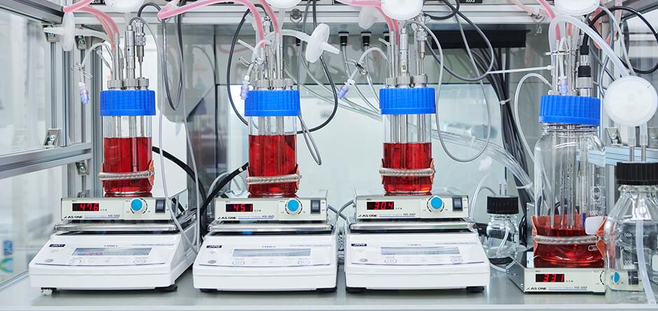 コスメや培養肉など多様な細胞培養が可能な、汎用大規模細胞培養技術CulNet Systemを開発したインテグリカルチャー社について解説