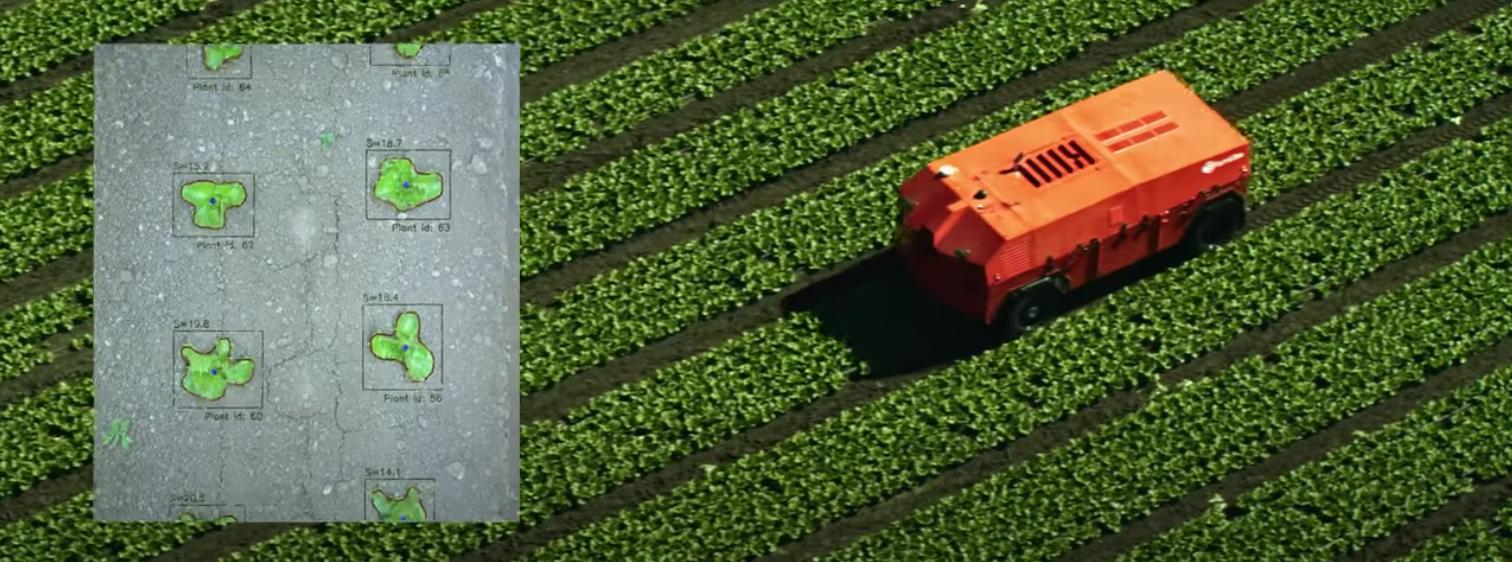 機械学習による画像認識で雑草と作物を識別する、FarmWise社の自動除草ロボットについて解説