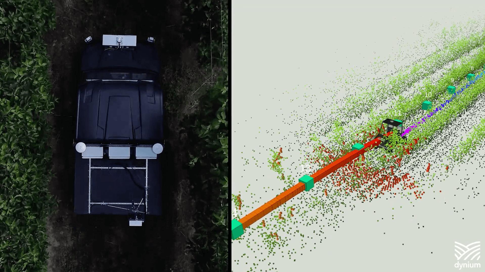 果実を自動でカウントし収穫量を高い精度で予測するDynium Robot社のCropScoutサービスについて解説