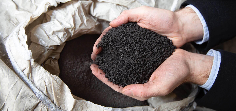 石炭から腐植を作る。即効性と持続性を兼ね備えた土壌改良剤 NOVIHUM のご紹介