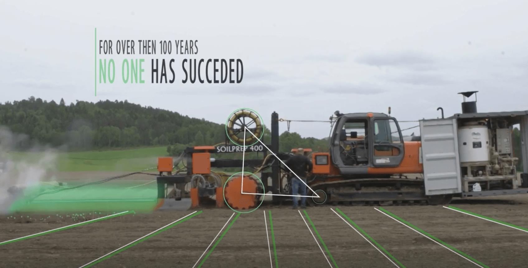 薬剤や農薬に頼らずに雑草や菌類を死滅させるスチーム機器を開発するSoil Steam社について解説