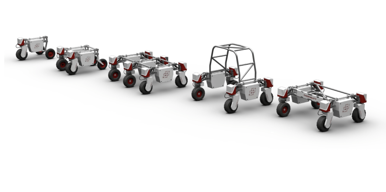 低価格・高品質な農業用自律型モジュール式ロボットThorvaldを開発するSaga Robotics社について解説