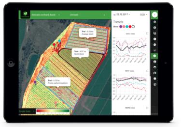 広大な圃場を見渡す「鳥の目」が手に入る! FluroSat が提供する圃場管理プラットフォームを紹介