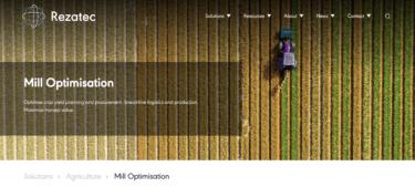 衛星画像や地理空間データ分析に基づいて、農家に最適な播種や灌漑スケジュールを提案するRezatec社について解説