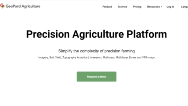 高解像度のマップで精密農業をサポート。高度なデータ解析技術を持つドイツの企業 Geopard agriculture を紹介します。