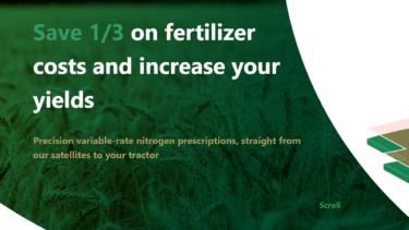 肥料の使用量を最大40%削減可能な、衛星を利用した精密農業システムを提供するVultus社について解説